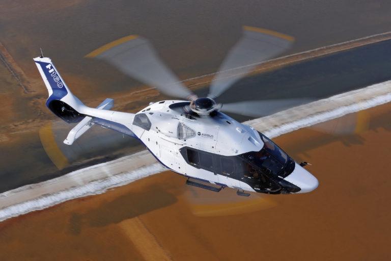 Liebherr-Aerospace supplies various components for the H160.