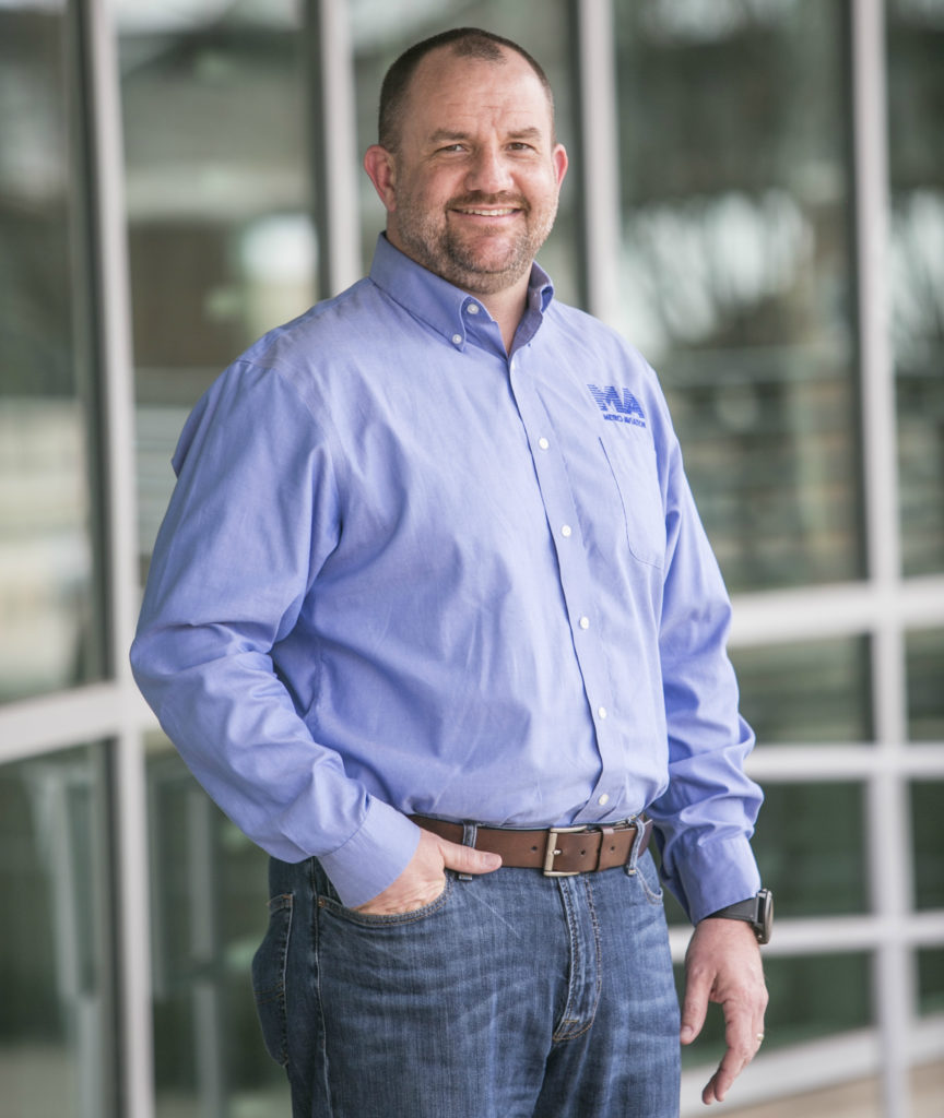 Kenny Morrow joined Metro Aviation in 1995, and over the last 23 years has learned every inch of Metro's business to become a key decision maker for the company. Metro Aviation Photo