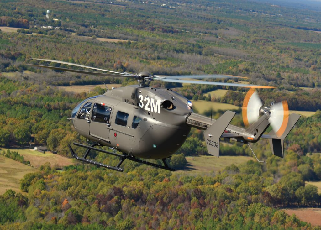 The U.S. Army competitively selected the UH-72A Lakota as its Light Utility Helicopter in 2006. The aircraft became the Army's primary training helicopter under the terms of the 2013 Aviation Restructure Initiative. James Darcy Photo