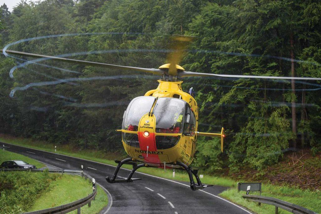 ADAC today operates 55 aircraft from 37 bases. Lloyd Horgan Photo