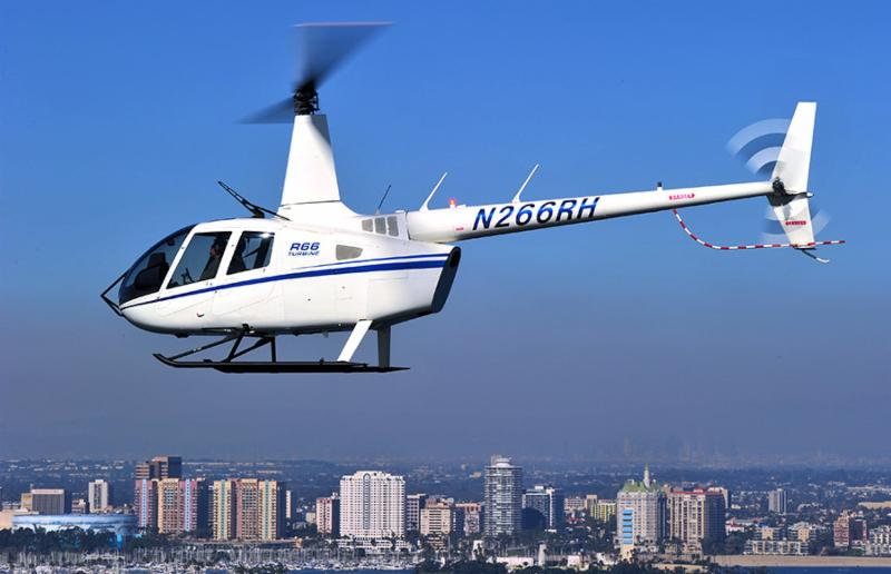 Robinson continues to work on a variety of programs to enhance its aircraft. It recently added an optional R66 Wire Strike Protection System developed in conjunction with Magellan Aerospace. Robinson Photo