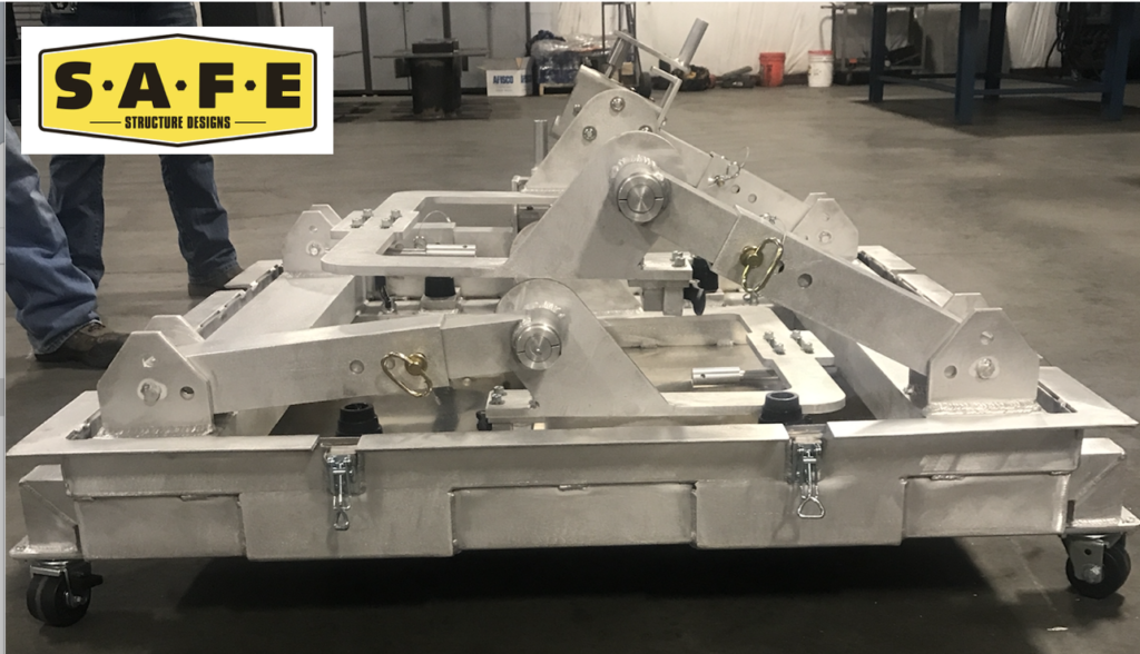 The engine work stand and engine container, also known as The Engine CAN will be on display at booth number C7229 at HAI Heli-Expo 2018 in Las Vegas, Nevada.