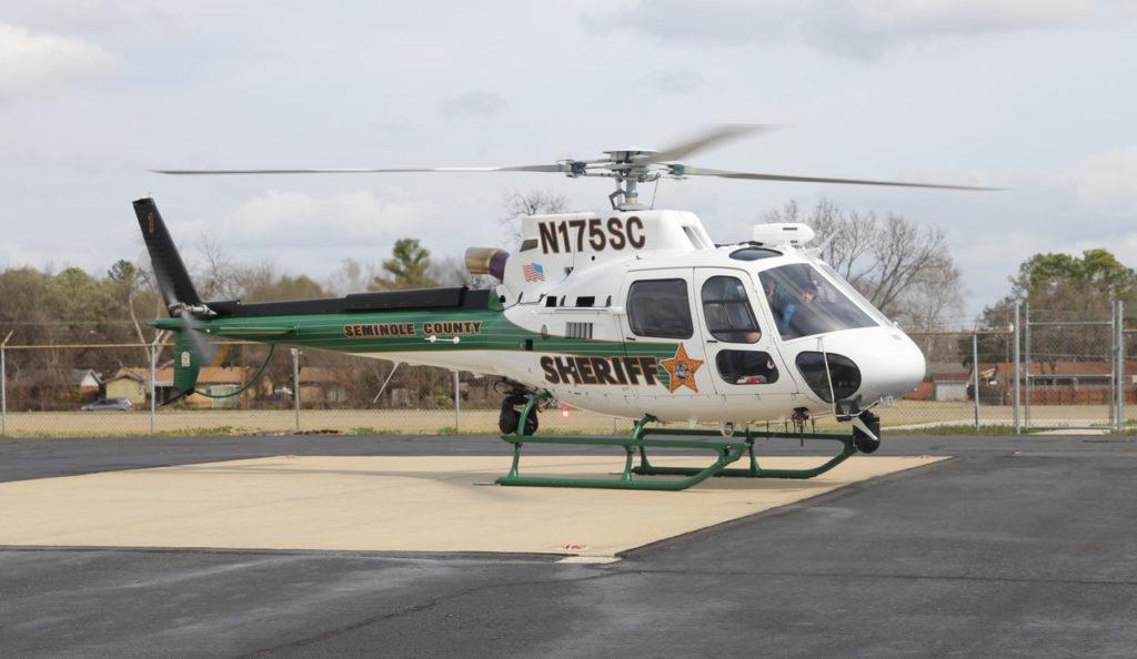 H125 rests on ground