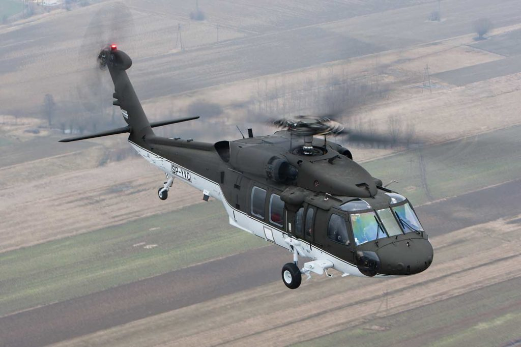 Sikorsky's S-70i Black Hawks are built in at PZL Mielec in Poland, which is Lockheed Martin's biggest manufacturing facility outside the U.S. Sikorsky Photo