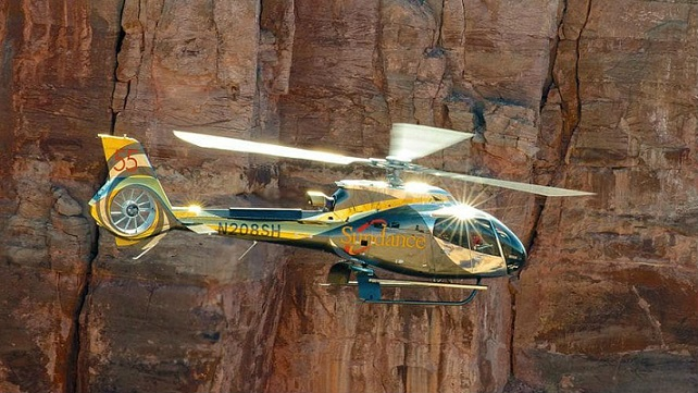 Sundance is among the first in the industry to adopt the global standard in aviation safety with a helicopter specific Safety Management System. Sundance Photo