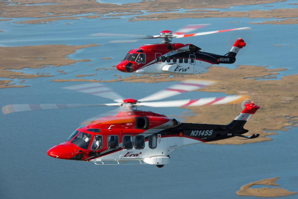 With a current fleet of more than 130 helicopters, Era has emerged as a leader in the helicopter industry providing an array of services including offshore personnel transport, emergency air medical, search-and-rescue, firefighting, utility, VIP transport and flightseeing services.