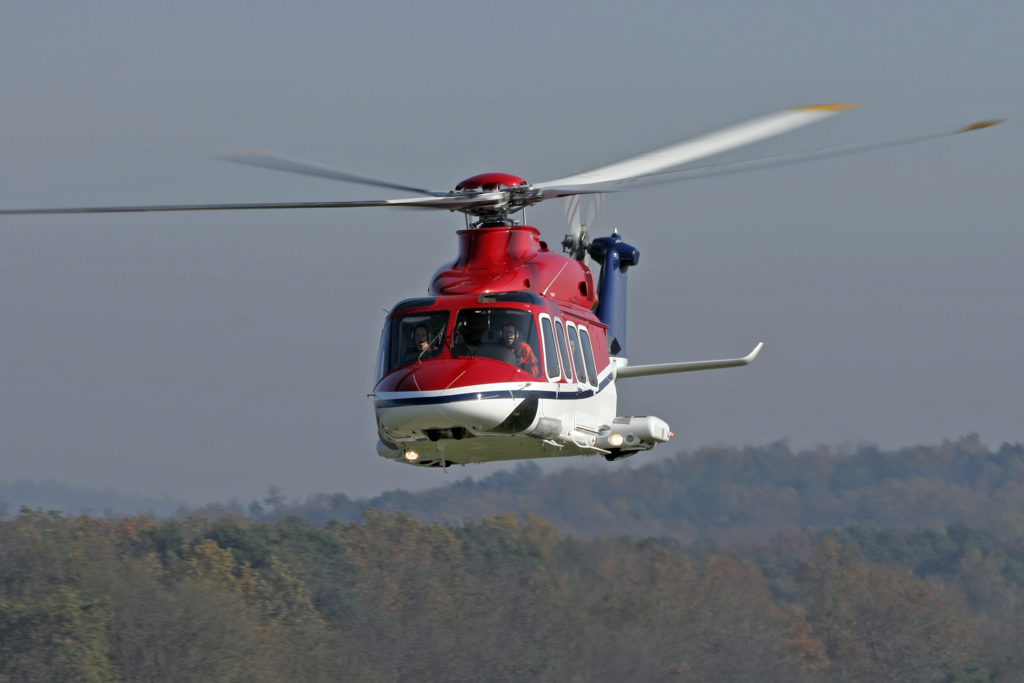 AW139 in flight