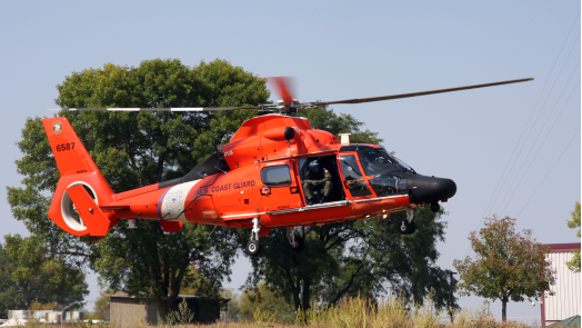 By the end of 2019, U.S. Coast Guard MH-65 helicopters will start getting equipped with a new avionics architecture from Rockwell Collins that brings a number of new search and rescue capabilities. Rockwell Collins Photo