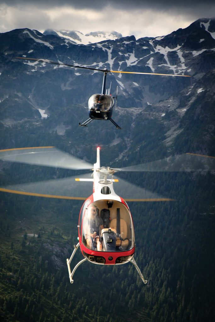 In addition to the Cabri, BC Helicopters now operates a Robisnon R44 and R66. BC Helicopters Photo