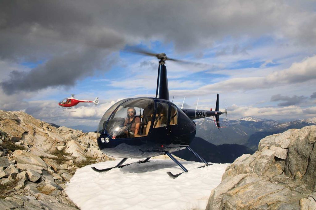 Currently, about 12 students graduate from the BC Helicopters training program each year, but the company hopes to increase that to between 20 and 24 graduates annually. Heath Moffat Photo