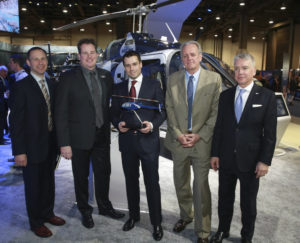MAG and Helite, along with Bell, will co-market the Bell 505 and VIP interior by utilizing the aircraft on customer demo-flights, participation in local trade shows and various social media outlets.