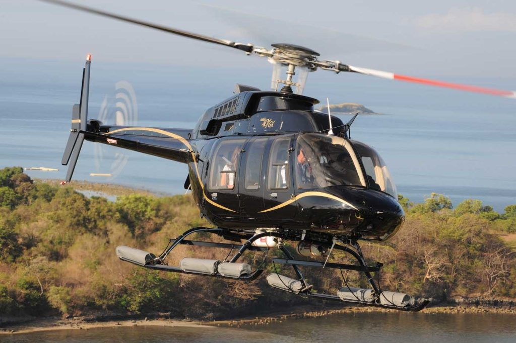 Long wait times for new Bell 407s have firmed up values for the aircraft. Bell Photo