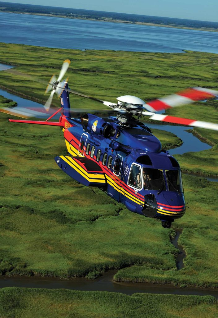 Sikorsky S-92 values surged with the grounding of the EC225 fleet, pushing the value of SAR configured S-92s as high as $40 million. Skip Robinson Photo