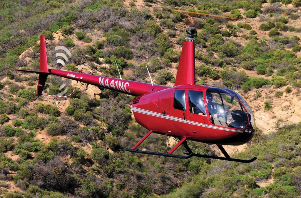 The Robinson R44 is the most traded helicopter in the world. Skip Robinson Photo
