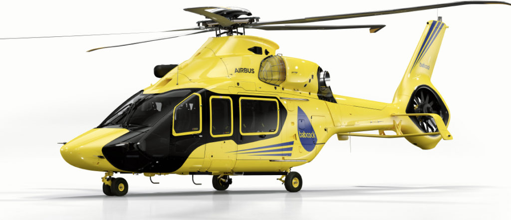 """Babcock has been named the global launch customer for the Airbus H160 after signing an agreement to purchase """"a fleet"""" of the type. Airbus Helicopters Image"""