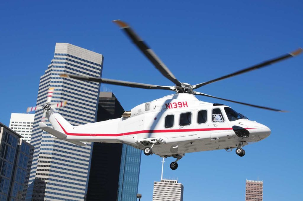 The Leonardo AW139 replaced the S-76 in many offshore and corporate markets. Skip Robinson Photo