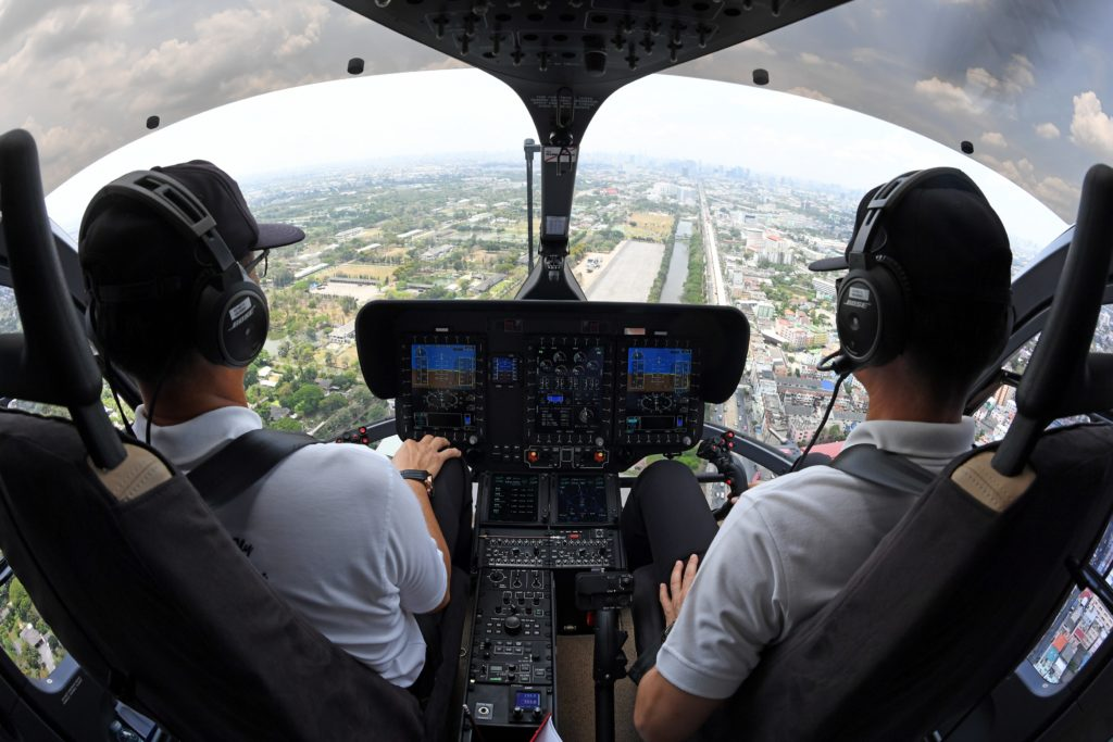 Helionix-equipped aircraft have now completed more than 100,000 flight hours in just three years. Anthony Pecchi Photo