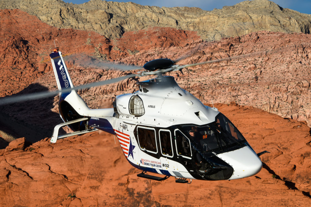An undisclosed North American company has become the launch H160 customer in the U.S., with an order for four aircraft.