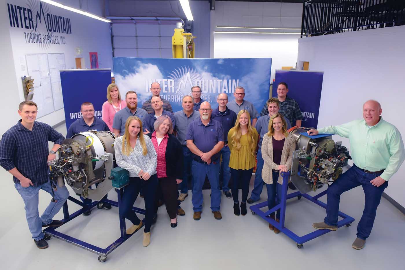 While the LTS101 once had a poor reputation for performance, the team at Intermountain Turbine Services has worked for 25 years to ensure aircraft fly longer, farther and better with the engine. Mike Reyno Photo