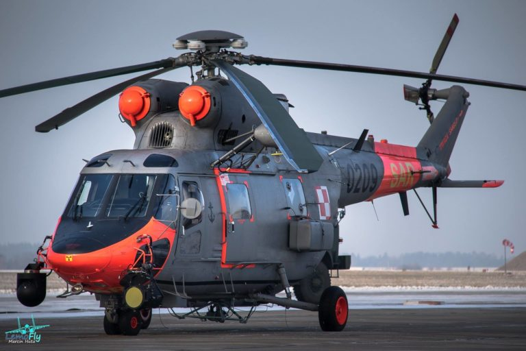 Up close with a Polish Navy search-and-rescue Anaconda. Photo submitted by Marcin Huta