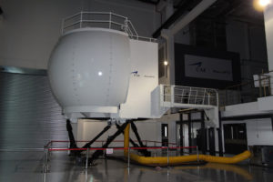 CAE 3000 Series S-92 full-flight simulator at the CAE Brunei MPTC.
