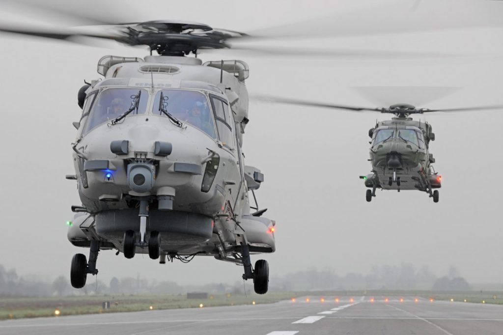 Qatar will receive 16 NH90s in tactical transport configuration and 12 NH90s in naval configuration. Anthony Pecchi Photo