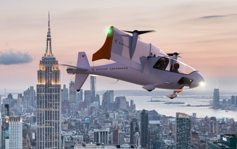 The aEro 2 will offer fast air transportation at the same cost per kilometer as a car, but with less environmental impact.