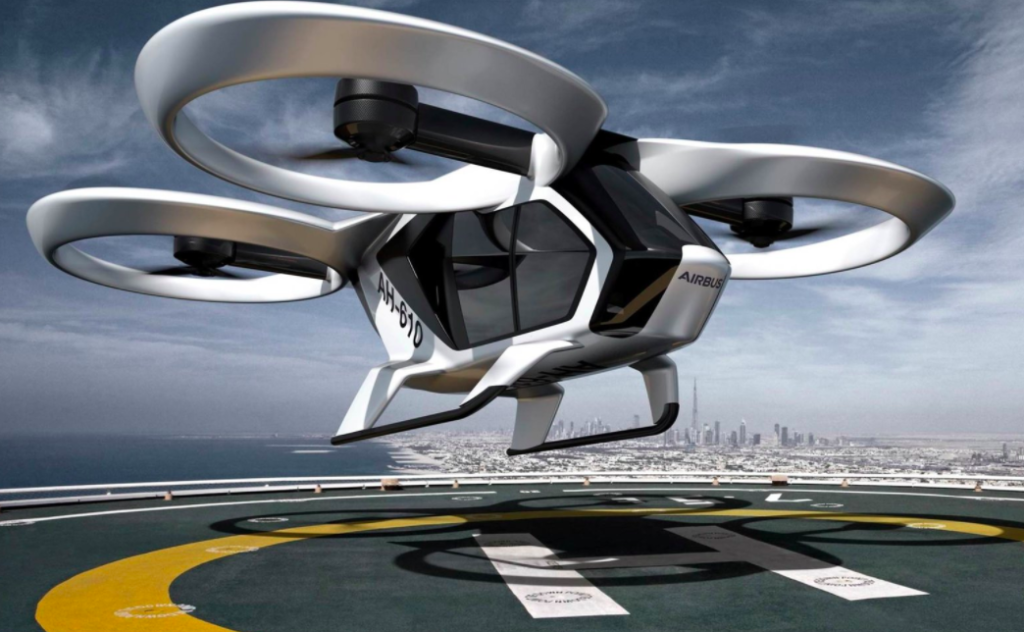 Airbus says its partnership with Blade will lay the groundwork for future deployment of eVTOL platforms like this CityAirbus demonstrator.