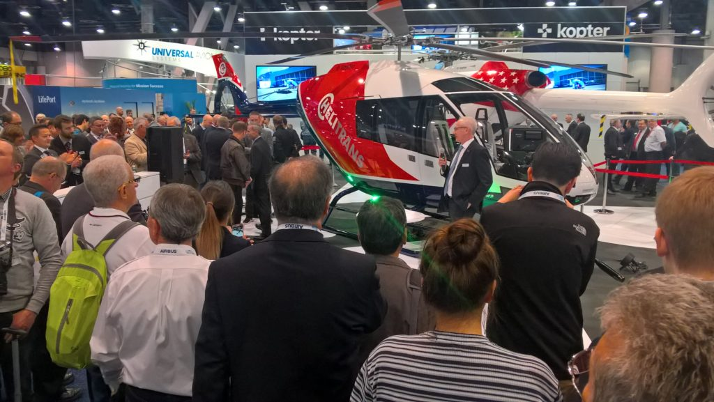During its unveiling event held on the first day, Kopter announced several firm orders.