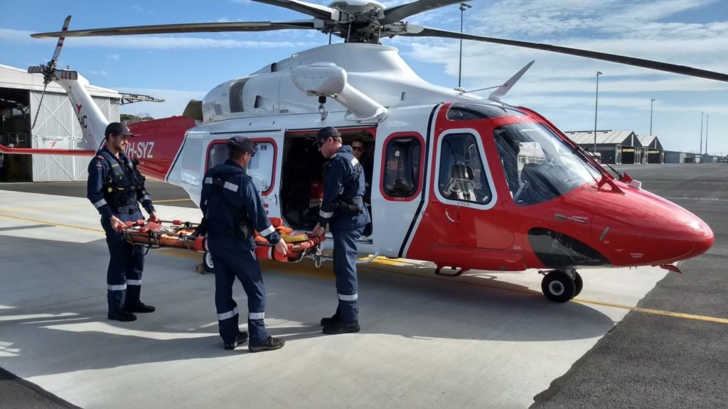 The AW139 aircraft will be SAR-configured with four-axis auto hover, allowing them to hover over water at night.