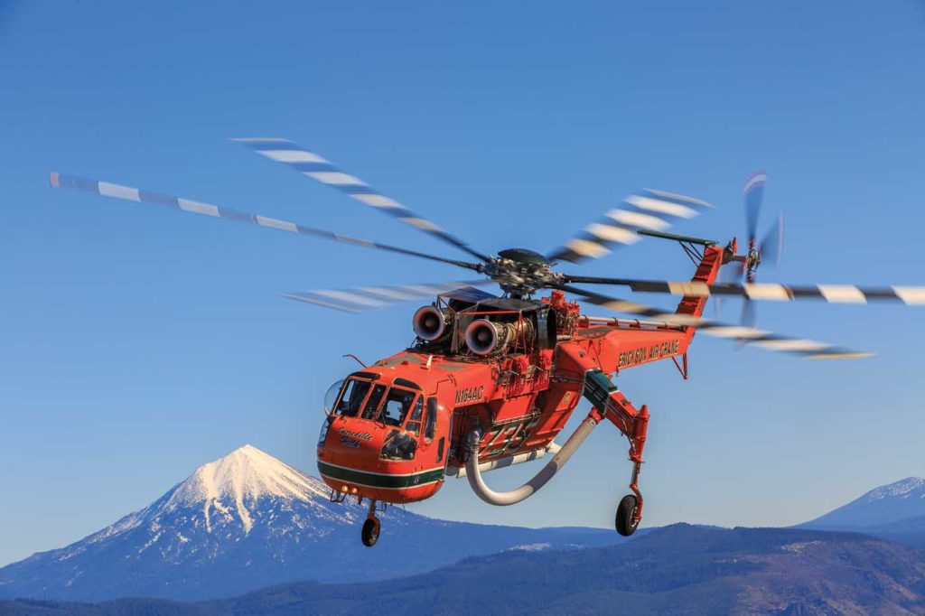 The lead time for a new Aircrane is 18 to 24 months, but Erickson is hoping to reduce this with heightened interest in the aircraft from agencies around the world. Heath Moffatt Photo