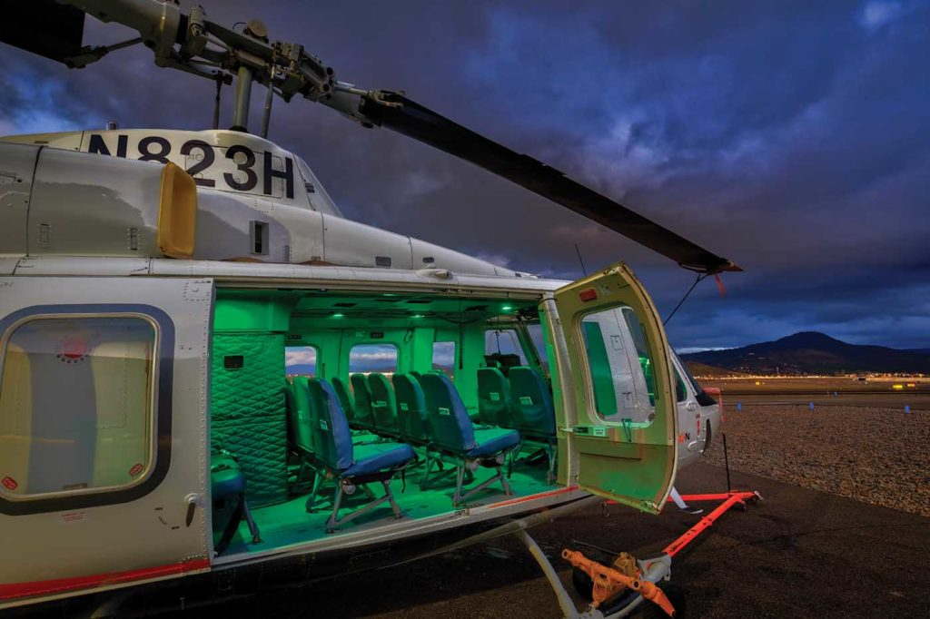 Erickson signed an agreement with Bell in February 2015 to assume product support responsibility for the Bell 214 B and ST models. Heath Moffatt Photo