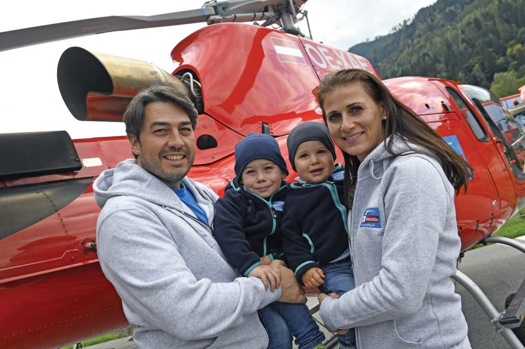 Heli-Austria remains a family affair. Its CEO and chief pilot is Roy Knaus (left), and it was his father that established the company in 1984. His brother also works at the company. Anthony Pecchi Photo