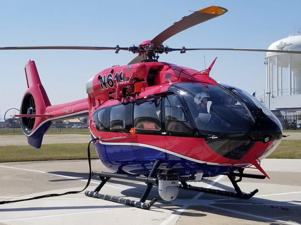 SDG&E selected the H145 for its missions as the helicopter meets the company's challenging requirements, which include heavy loads, range and high/hot operations. Airbus Helicopters Photo