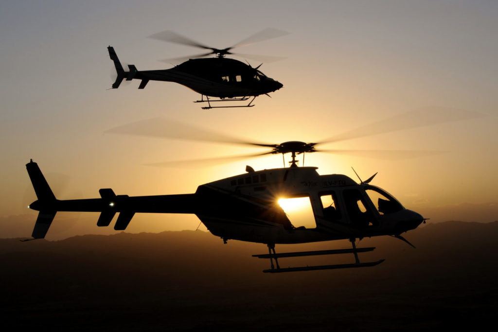 Bell manufactures military rotorcraft in and around Fort Worth, as well as in Amarillo, Texas, and commercial helicopters in Mirabel, Quebec. The company provides training and support services around the world. Anthony Pecchi Photo
