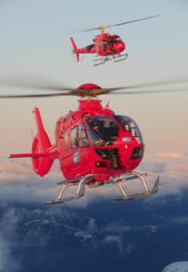 Heli-Austria has a fleet of more than two-dozen helicopters and a staff of 150. Anthony Pecchi Photo