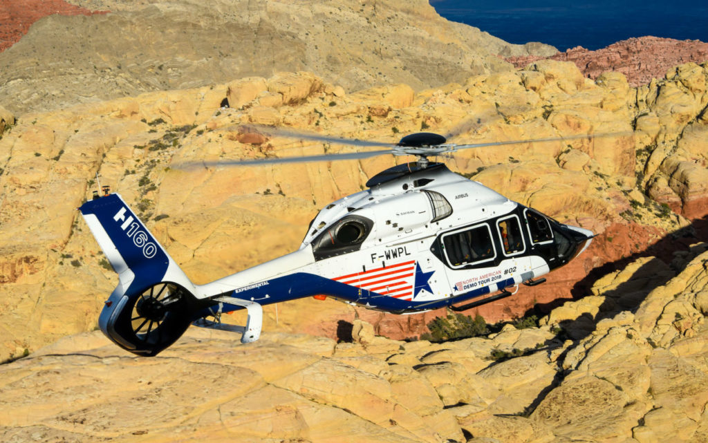 Fifty years on, the H160 possesses the latest and largest Fenestron to be built on an Airbus helicopter. Mike Reyno Photo