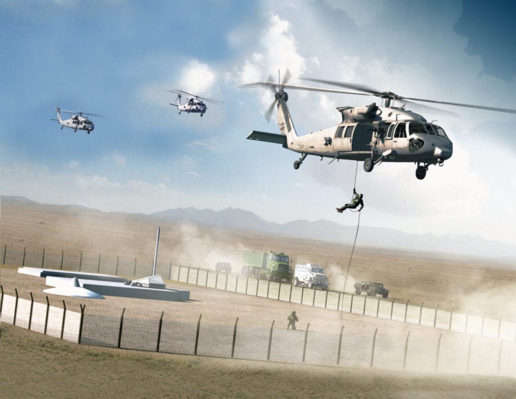 Missions for the HH-60U would include missile silo protection.