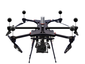 PrecisionHawk's BVLOS-enabled, multi-rotor drone incorporates industry-leading technology to automatically identify all cooperative and non-cooperative aircraft within a 10-kilometer radius. PrecisionHawk Photo
