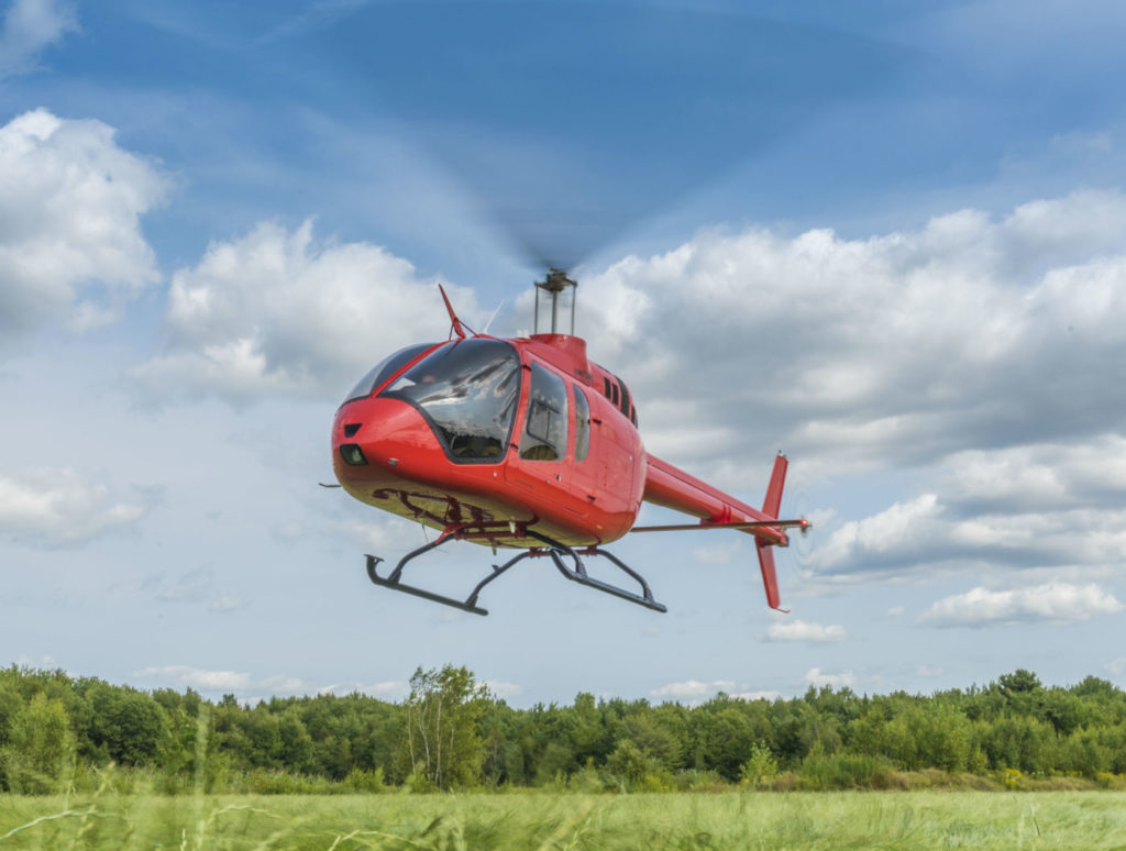 The Bell 505 Jet Ranger X incorporates the familiarity of the Jet Ranger family with new advanced avionics technology. Bell Photo