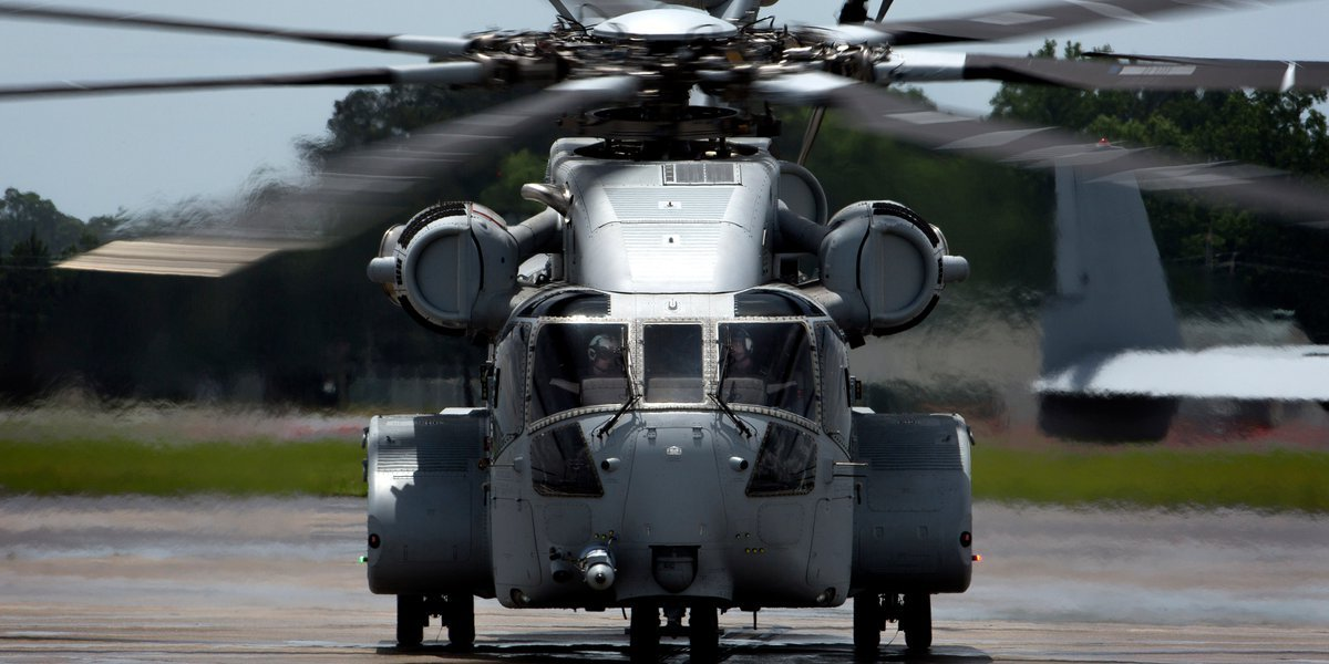 The first CH-53K will be stationed at MCAS New River in Jacksonville, North Carolina. USMC Photo