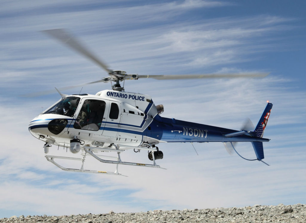 CNC acquired the Airbus AS350 B2, formerly owned by the Ontario Police Department, and will continue to build its fleet through purchases of new and used aircraft that support a broad range of mission profiles. CNC Photo