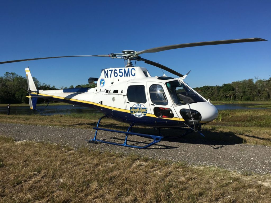 Lee County Mosquito Control District expects to operate each of the H125s 200 to 250 hours a year. Airbus Photo