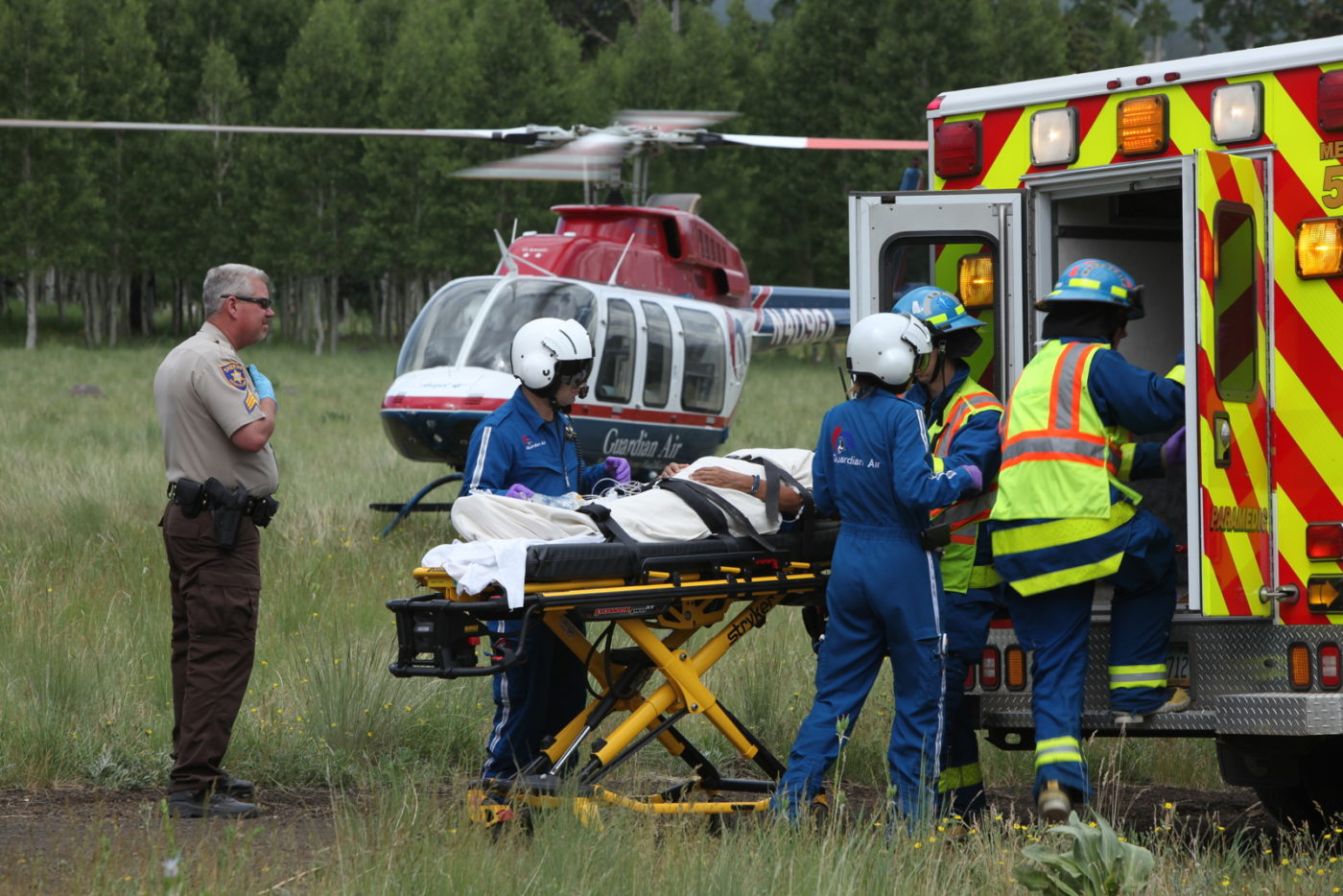 Pending legislation could change how U.S. air ambulance providers bill for their services. Sheldon Cohen Photo