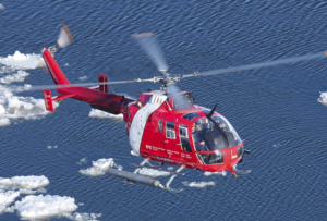 The Bo 105s will be used by the recipient institutions for hands-on training for mechanical and engineering programs.
