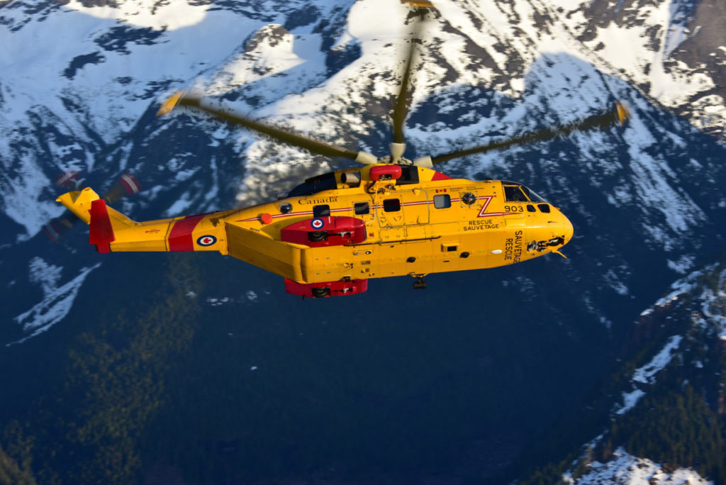The Cormorant MLU and augmentation will position the rotary-wing SAR fleet for further reductions in cost of ownership over the extended life of the fleet to 2040. Mike Reyno Photo