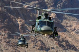 CH-146 Griffon aircrews have resumed conducting four to five missions per day, seven days a week, a pace similar to the height of the pre-Mosul campaign. Skip Robinson Photo