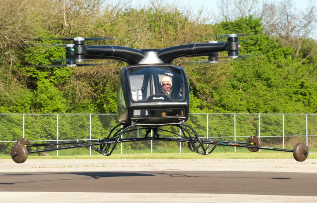 Workhorse is taking the SureFly through the certification process as a manned aircraft, but is building it to ultimately be capable of autonomous flight. Workhorse Photo
