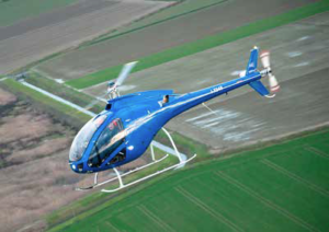 The Zefhir helicopter has a maximum takeoff weight of 1,540 pounds, a maximum speed level of 100 knots, and a maximum range of 172 nautical miles at 87 knots - with a 10-minute reserve. Curti Photo