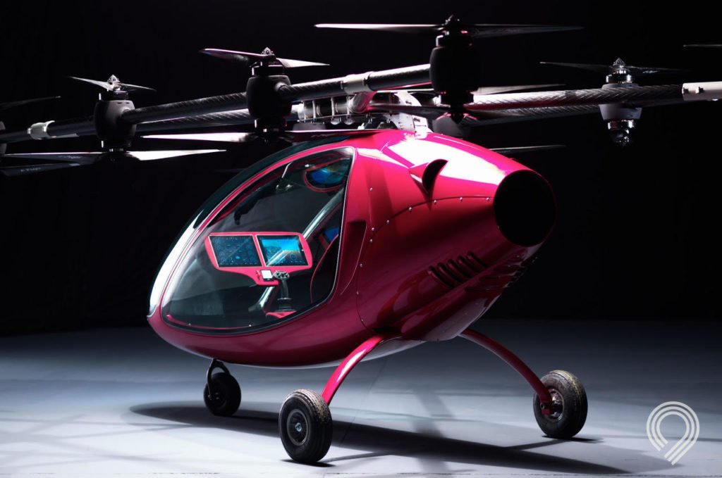 Astro Aerospace's Passenger Drone is an aerial transport vehicle that is slated to improve urban mobility and enable passengers to arrive at their destination quickly and swiftly. Astro Aerospace Photo
